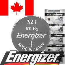 1 PC Genuine Energizer 321 Battery SR616SW D321 V321 SR65 280-73 Watch Batteries