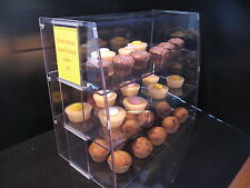 Cake Counter Top Display Cabinet Bakery Pastries Doughnuts Deli Food Cupcake