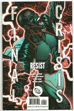Final Crisis : Resist & Submit One Shots ~ NM ~ DC Crossover Event