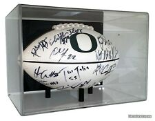 Wall Mount Football Display Case by GameDay Display Made in USA UV Protecting