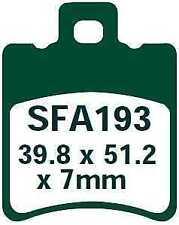 EBC Bremsbeläge SFA193 VORNE Yamaha XN 125 N Teo s 00-03