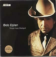 BOB DYLAN Things have Changed promo cd single