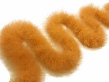 2 Yards - Golden Yellow Turkey Medium Weight Marabou Feather Boa 25 Gram boa