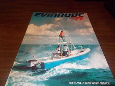 1977 Evinrude Outboard Motors 32-Page Sales Catalog