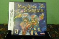 Magical Starsign (Nintendo DS, 2006) Brand New Factory Y-Folds Sealed
