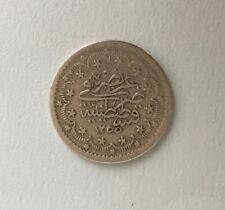 OTTOMAN KURUS COIN Middle Eastern silver Turkish