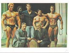 Arnold Schwarzenegger/Franco/Robby/Ken Waller/Ben+Joe Weider Photo Color