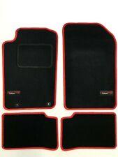 Mazda 323 BJ F//S 100/%  passform Fussmatten Autoteppiche Schwarz Silber Rot Blau