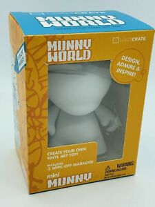 Munny World Customizable Create Your Own Vinyl Art Mini Toy Loot Crate Exclusive
