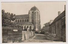 Netherlands postcard - Veere, Grote Kerk - RP - P/U