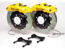 Brembo Front Gt Brake Bbk 6 Piston Yellow 355x32 Drill Disc A4 09 14 A5 08 14 B8