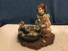 Boyds Bears Yesterdays Child 3521 Wendy with Bronte Keats Tennyson + Wash Day