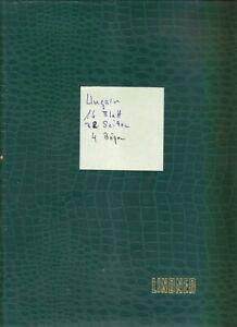 Briefmarken Sammlung - UNGARN - Gest. + 4 Marken Bögen