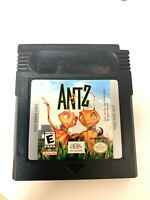 Antz NINTENDO GAMEBOY COLOR GAME Tested + Working!