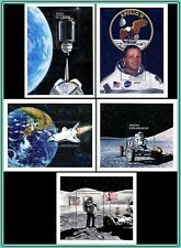 ANGOLA 1999 SPACE RESEARCH =APOLLO 11 MNH - FIVE S/SHEETS $26.00 CAT. VALUE