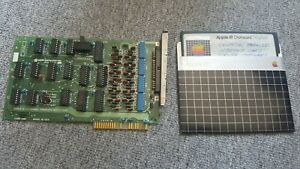 RARE Apple III Universal Parallel Interface Printer Interface card with software
