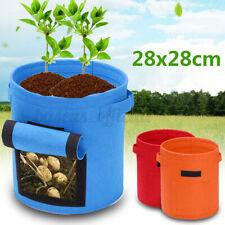 US Potato Planting PE Bag Cultivation Pot Vegetable Growing Home Garden Supplies