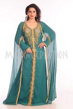 TRADITIONAL SELHAM TUNISIAN CULTURAL WALIMA GOWN FANCY MAXI DRESS BOHO 7223