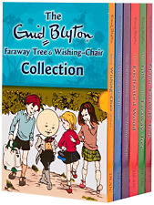 Enid Blyton Wishing Chair and Magic Faraway Tree Series 6 Books Box set