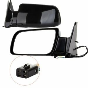 Pair Left & Right Power Non-Heated Side View Mirrors For Cadillac Chevrolet GMC