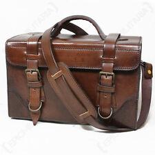 Buffalo Leather Carry Bag - Handbag Shoulder Satchel Holdall Unisex Vintage