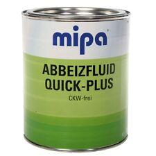 Mipa Abbeizfluid Quick-Plus Lackentferner Abbeizer für Lack und Farbe 0,75 kg
