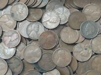 UNSEARCHED Lot of 500 Lincoln Wheat Pennies  Cents LOT 3