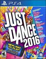 PLAYSTATION 4 PS4 VIDEO GAME JUST DANCE 2016 BRAND NEW AND SEALED