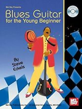 """Mel Bay'S """"Blues Guitar For The Young Beginner"""" Music Book/Cd-Brand New On Sale!"""