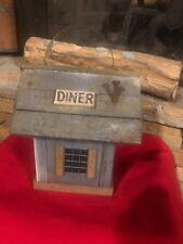 M.L.Studtman Birdhouse Diner Hand Crafted Signed Original Blackhawk Root Beer