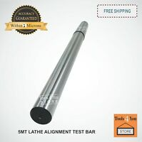Lathe Alignment Test Bar 2 Piece Set Consisting Of 4MT & 5MT Bar PrecisionGround