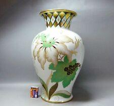 (G5601) Große Rosenthal Art Deco Vase, um 1930, 1.Wahl, Höhe 42 cm