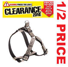 CLEARANCE - FERPLAST Cricket LARGE Dog Harness GREY - NOW 1/2 PRICE