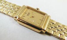 Seiko Gold Tone Base Metal 1F20-0E50 Sample Watch NON-WORKING