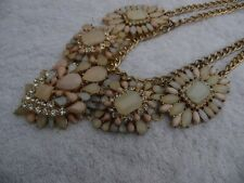 Necklace Fashion Jewelry Outstanding Statement Spring colors pastels rhinestones