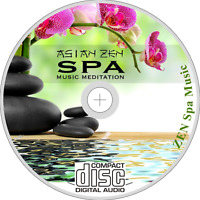 ZEN SPA MUSIC CD - RELAXATION MEDITATION HEALTH-SPA MASSAGE BEAUTY SALON