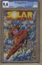 SOLAR MAN OF THE ATOM #3 CGC 9.4 🔑 1ST APP. TOYO HARADA (1991) VALIANT🔥