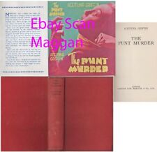 Aceituna Griffin  THE PUNT MURDER  1st w/ fdj 1936 Sampson Low Mystery