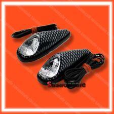 MINI - Kawasaki Motorcycle Universal Turn Signals Indicator - CARBON/CLEAR