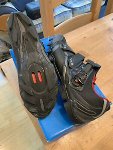 Mens Black Shimino SPD Cycling Shoes