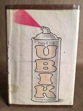 Ubik by Philip K Dick, 1969, First Edition/Print HCDJ
