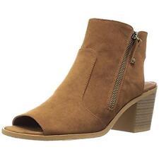 Rocket Dog 5528 Womens Crest Coast Brown Booties Shoes 8.5 Medium (B,M) BHFO
