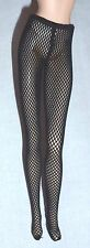 LINGERIE  BARBIE DOLL MODEL MUSE SHOE OBSESSION BLACK FISHNET STOCKING PANTYHOSE