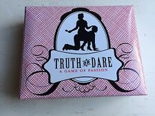 Truth Or Dare A Game Of Passion (Adult Game) W Dice and 2 Decks of Cards Boxed