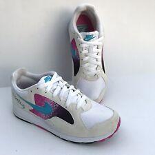 New listing Nike Air Skylon 2 White Blue Lagoon Fuchsia Men's Size 8.5 Athletic Shoes