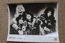 Motley Crue Rodney Dangerfield Signed Autographed Shout At The Devil Photograph