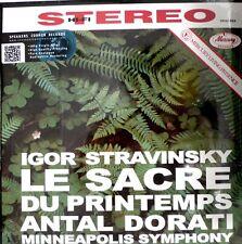 Stravinsky-le sacra du printemps-MERCURY-SR 90253-dorati -180 grams