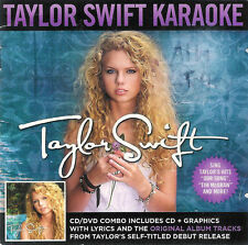 Taylor Swift ~ Karaoke ~ CD + DVD ~ 2009 Big Machine Records ~ FREE Shipping USA