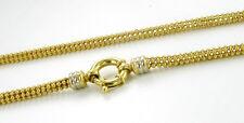 Collier Kette 22,7gr. 585er Gold 45cm Neuwertig