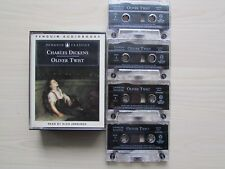 CHARLES DICKENS OLIVER TWIST AUDIO BOOK 4 X LONG PLAY CASSETTE TAPE SET, TESTED